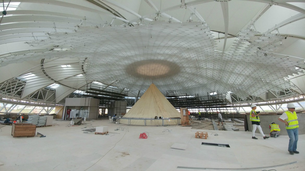 STELIOS JOANNOU LEARNING RESOURCE CENTRE DOME