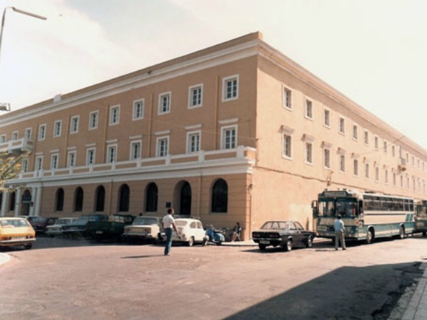 AGRICULTURAL BANK OF GREECE AND JUDICIAL PALACE IN CORFU ISLAND