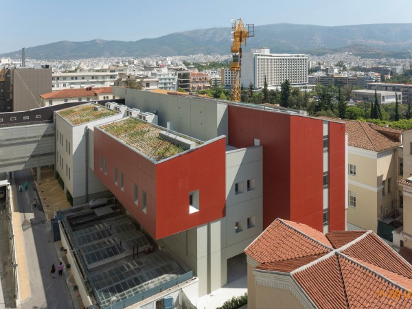 NEW WING FOR SURGERIES AND AUXILIARY USES AT EVAGGELISMOS HOSPITAL, ATHENS