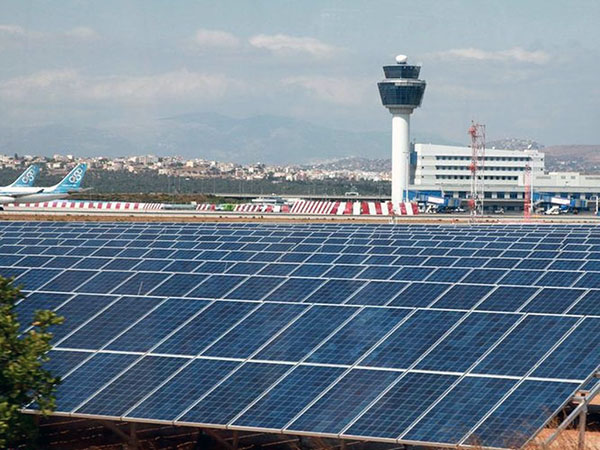 8MW PHOTOVOLTAIC PARK AT ATHENS INTERNATIONAL AIRPORT