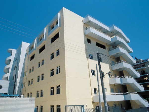 NEW WING AT THE TZANIO GENERAL HOSPITAL OF PIRAEUS